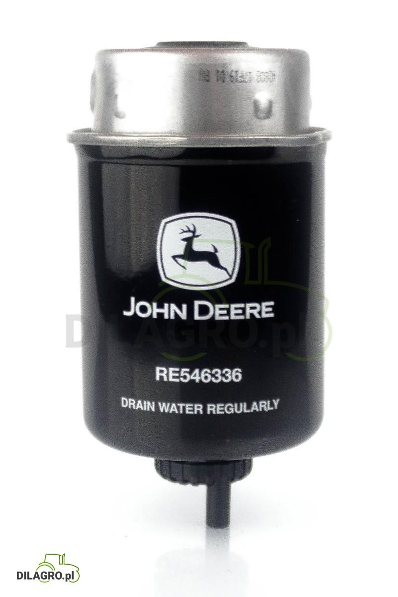 Filtr paliwa John Deere RE546336 - RE529644.