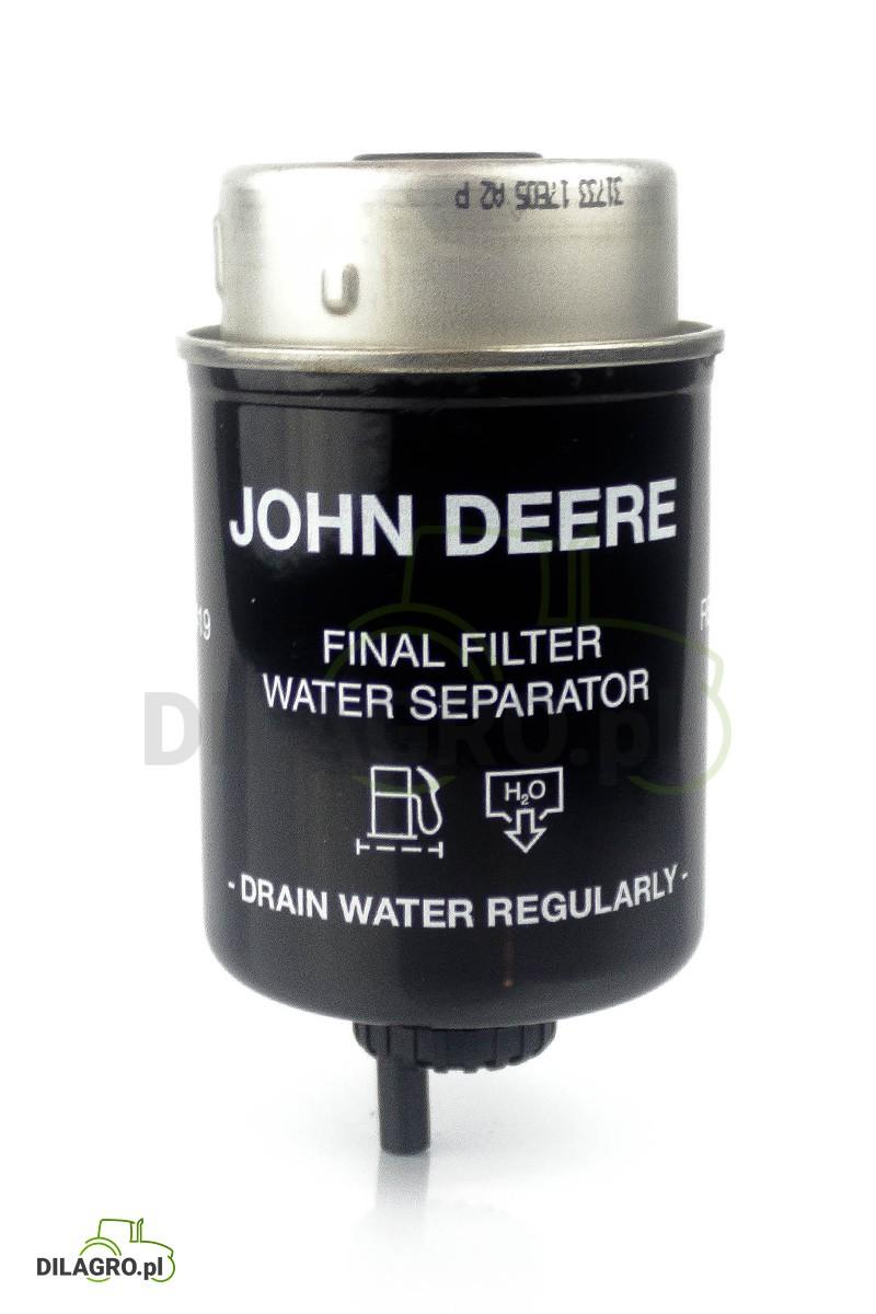 Filtr paliwa John Deere RE62419 - P551424 - FS19861 - WK8102 - BF7674-D